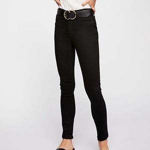 NWT Free People High Rise Long & Lean Jeans 25L